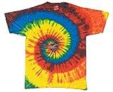 toddler girls tie dye - Buy Cool Shirts Tie Dye Swirl Reactive Rainbow Toddler Kids T-Shirt 4T