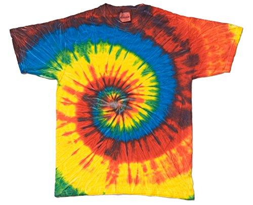 Buy Cool Shirts Tie Dye Swirl Reactive Rainbow Toddler Kids T-Shirt 3T