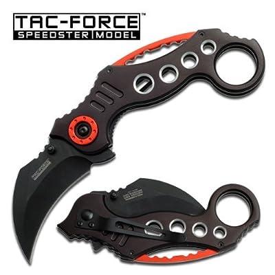 TAC FORCE Pocket Knives BLACK Blade Tactical Knife