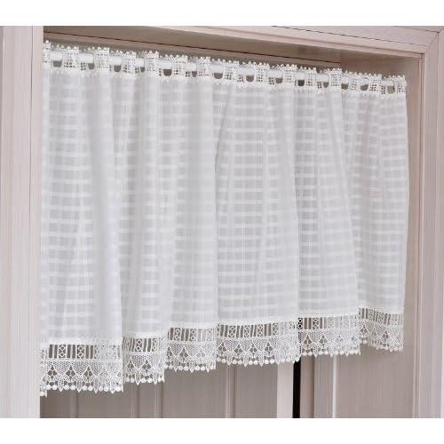 fadfay home textileelegant bedroom white curtainsdesigner white gingham short curtainsmodern - Short Curtains For Bedroom
