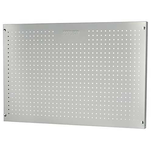 Viper Tool Storage 2436PBSS 2-Foot by 3-Foot 304 Stainless Steel Pegboard by Viper Tool Storage