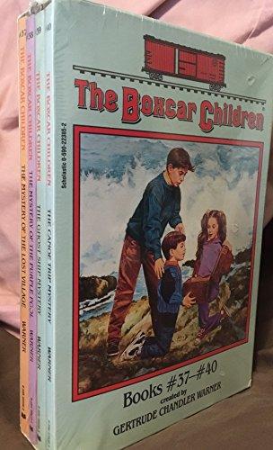 The Boxcar Children Books #37-#40 - Book  of the Boxcar Children