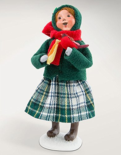 Kensington Row Christmas Collection Byers Choice - Girl with Cardinal