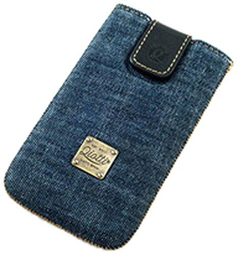 QIOTTI Raw Case für Apple iPhone 5/5S/5C Blau Denim
