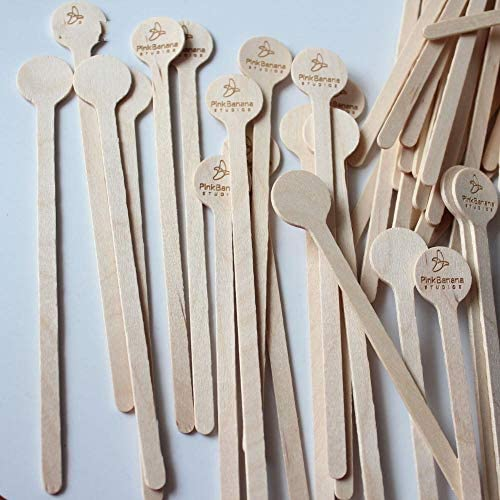 BGPOM Kaffeelöffel Swizzle Sticks Cocktail Drink Rührer Hochzeit Herzstück Party Sticks Name Stir Sticks 50 Pcs/Lot