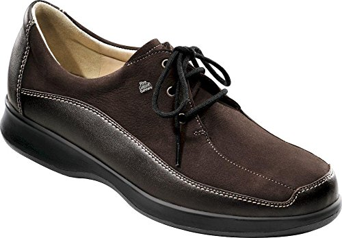 para marr Comfort de mujer de Zapatos Finn cordones cuero YZqwn4