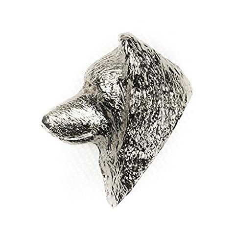 SAMOYED HEAD Made in U.K Artistic Style Dog Clutch Lapel Pin Collection - Samoyed Jewelry