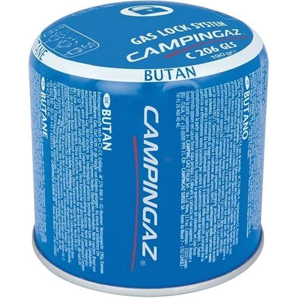 6 x 190g Campingaz C206 GLS Pierceable Cartridges - New ...