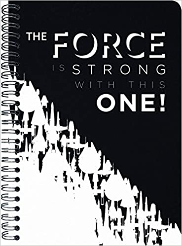 2019 star wars monthly planner
