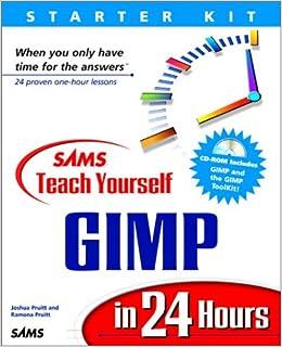 Buy Sams Teach Yourself GIMP in 24 Hours (Sams Teach
