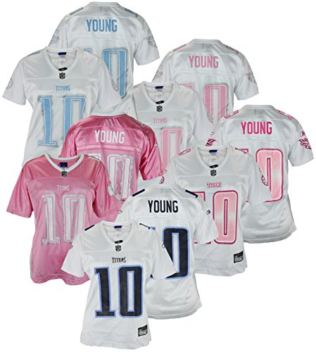 Assorted Womens Reebok Tennessee Titans Vince Young #10 Jersey
