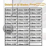 Jfbrix 32 Blades Stainless Steel Feeler Gauge