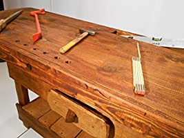 Mesa Banco tipo carpintero trabajo 163 x 60 x 88 cm: Amazon.es: Hogar