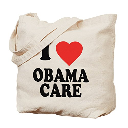 Bolso de totalizador de CafePress - I Love Obamacare bolso de mano
