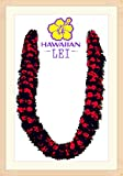 Hawaiian Ribbon Lei, Blue and White-Ilima 32 Inch