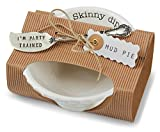Mud Pie Circa Skinny Dip Set, White