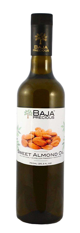 Baja Precious - Sweet Almond Oil, 750ml (25.3 Fl Oz)