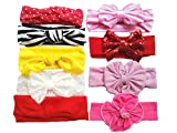 Best Band Headband For Headwear Hairs - Toptim Baby Girl's Turban Headbands Toddler Knotted Headwear Review