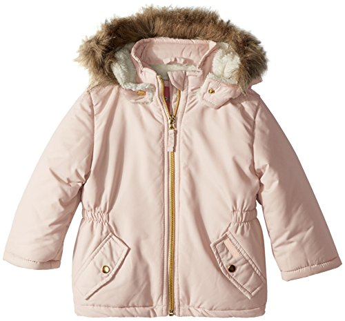 Wippette Baby Girls Sueded Anorak Inf, Light Pink, 18M by Wippette