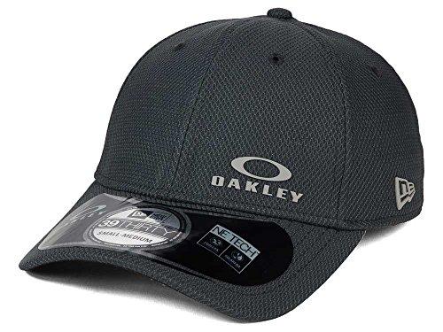 Oakley Men's Diamond New Era Hat, Graphite, Medium/Large (Baseball Oakleys)