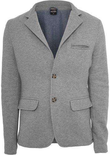URBAN CLASSICS Herren Sweat Blazer TB548 grey XXL