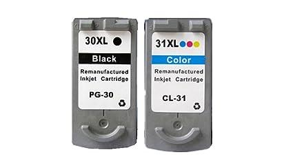 yotat para Canon PG-30 CL-31 PG30 CL31 cartucho de tinta para ...