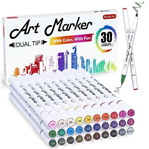 30 Colors Dual Tip