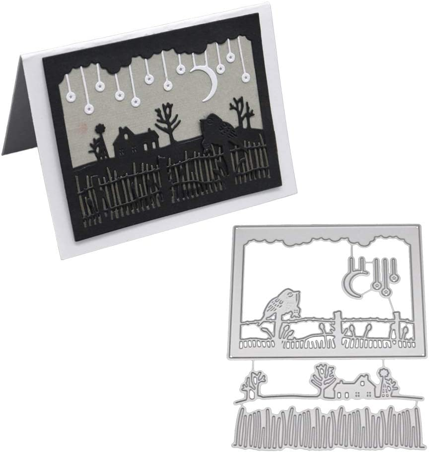 Easter Moon Metal Cutting Dies Stencil DIY Card Scrapbook Album Embossing Craft