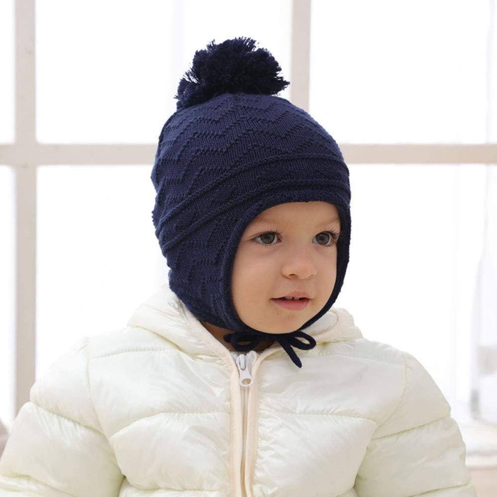 Mibuy Gorro De Punto Suave Y Cálido Para Bebés Y Niñas Recién ...