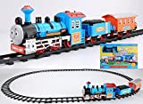Curtis Battery Operated Train Track Toy Set (11 Pieces)