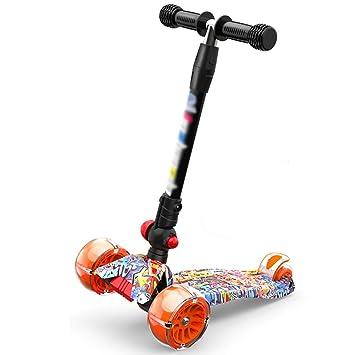 Patinete Scooter para niños con Rueda Intermitente de PU, Scooters ...