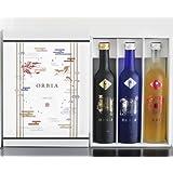 ワイン樽熟成日本酒ORBIA 3本セット<SOL&LUNA&GAIA>500ml×3本