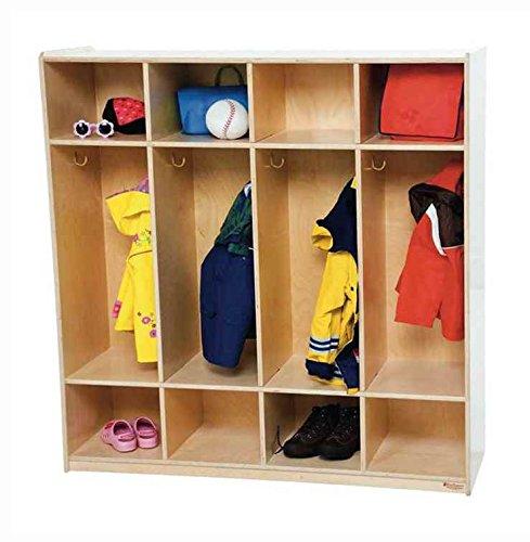 4 Section Locker