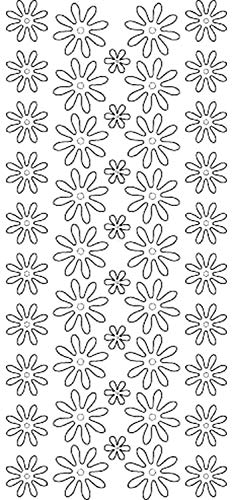 Crafts Outline Peel - Ecstasy Crafts Flowers 3500 Double Stick Peel Stickers Outline