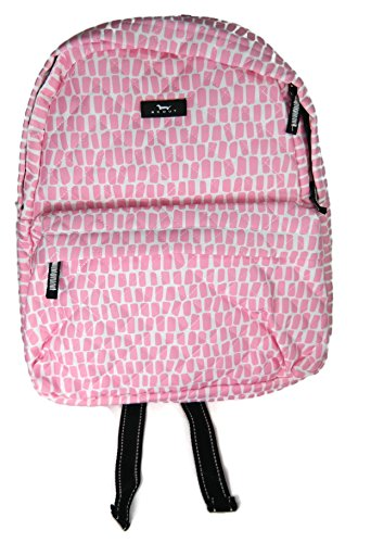 SCOUT Backstory Mini Backpack, Adjustable Straps, iPad/Tablet Sleeve, Water Resistant, Zips Closed, Queen of the Tile