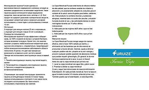 Set 2 Copas Menstruales Furuize Sport. Silicona suave de grado médico 100%. Previene infecciones y fortalece el suelo pélvico. Alternativa saludable, ...