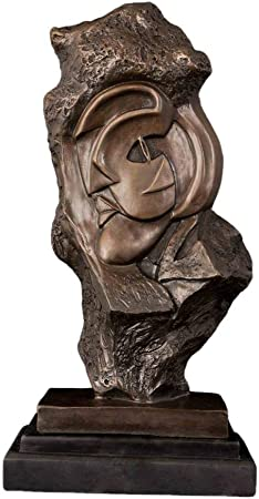 QIBAJIU Esculturas Y Estatuas De Jardín Escultura Decorativa Bronce Estatuas Famosas Esculturas Clásicas Figuras Decoración del Pasillo Interior: Amazon.es: Hogar