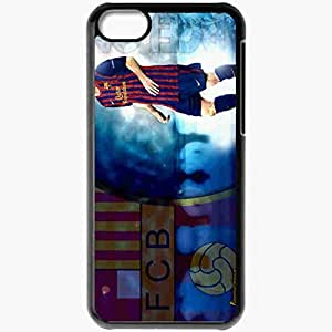 Personalized iPhone 5C Cell phone Case/Cover Skin Amazing magnificence lionel messi Black by lolosakes