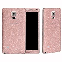 Bessky(TM) 2015 1PC Bling Glitter Back Film Protector Case For Samsung Galaxy Note 4 (Pink)