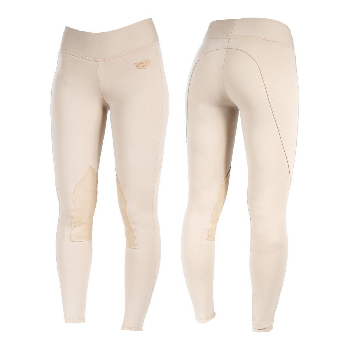 Horze Spirit Active Women's Knee Patch Winter Tights