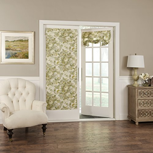 Waverly Spring Bling Window Door Panel, 68x26, Platinum - Waverly Spring
