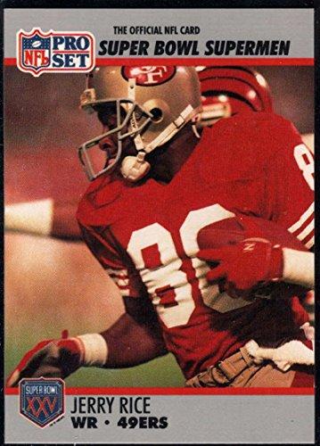 Pro Set Nfl Card (Football NFL 1990-91 Pro Set Super Bowl 160 #48 Jerry Rice NM-MT 49ers)