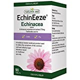 Natures Aid EchinEeze Echinacea Extract, 70 mg, 90 Tablets (Relief from the Symptoms of Cold and Flu, Equivalent to 460-530 mg Echinacea Root, Made in the UK, Vegan Society Approved)