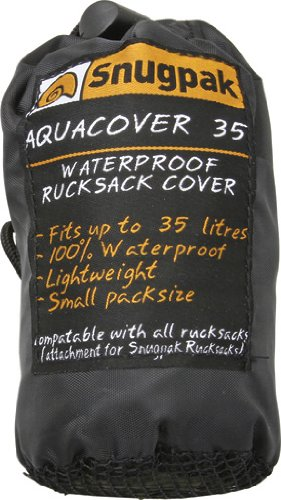 SnugPak Olive Aquacover 35 Waterproof Backpack Cover - 92141 by SnugPak