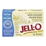 Jello Sugar Free & Fat Free Instant White Chocolate Pudding 6 x 32g Packages