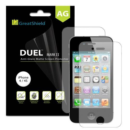 GreatShield Screen Protectors for iPhone 4S