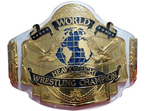 Fandu Belts Adult Wrestling Heavyweight Andre 87 Championship Title Belt A Tips White Strap by Fandu Belts