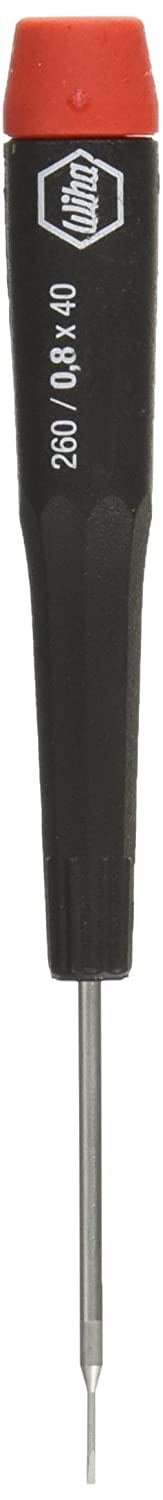 Wiha 96008 Slotted Screwdriver with Precision Handle .8 x 40mm