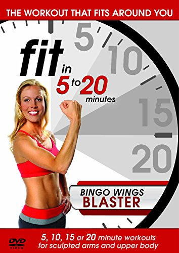 Fit in 5 to 20 Minutes - Bingo Wings Blaster [DVD] -