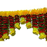 AFARZA;CHOICE GOOD FEEL GOOD Cloth and Plastic Artificial Flower Home Decor Garland toran for Door Decoration Wall…